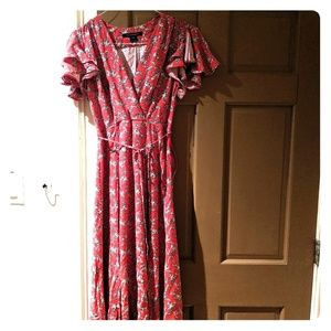 French Collection wrap dress